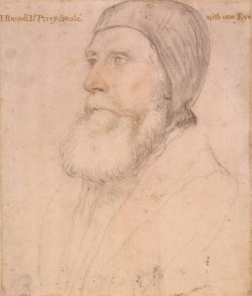John Russell, 1st Earl of Bedford, by Hans Holbein the Younger; Royal Collection, Windsor Castle