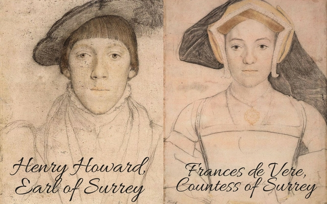 Henry Howard, Earl of Surrey and Frances, Countess of Surrey, c.?1532 � c.?1533