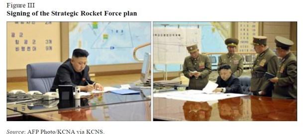 Assinatura do plano estratégico sobre foguetes