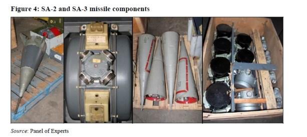 Componentes de mísseis