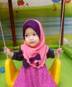 Tudung Baby – Aisyah Ribbon 07