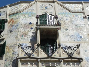 Fassade in Palma