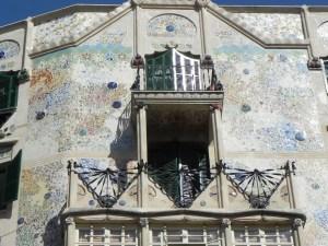 Fassade in Palma