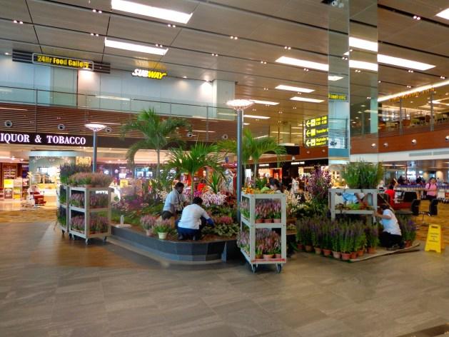 Flughafen Singapur