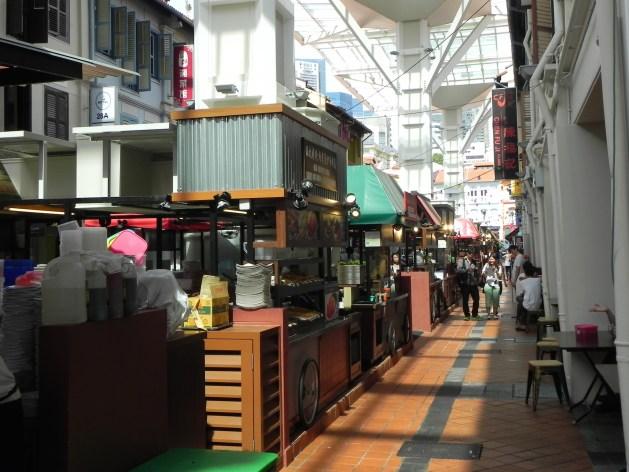 Foodstreet in Singapur