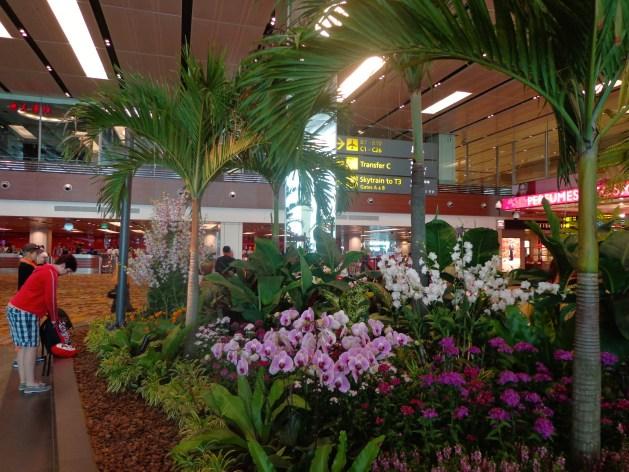 Singapur Flughafen