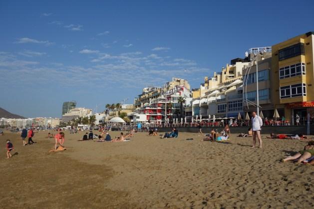 Am Strand Las Palmas