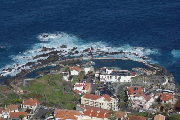 Blick auf Porto Moniz