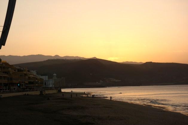 Sonnenuntergang am 31.12.16