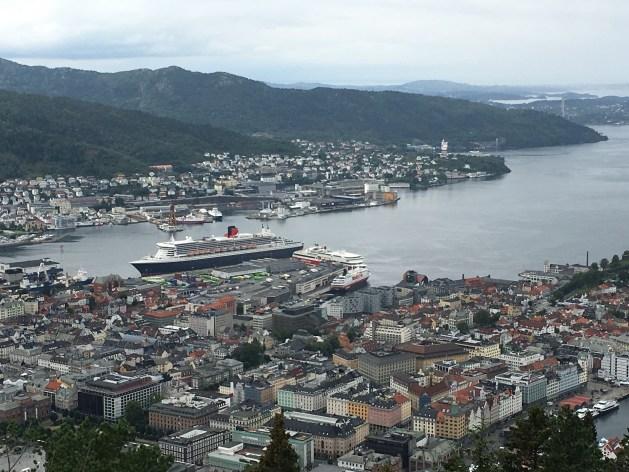 Blick auf Bergen1