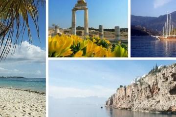 Collage, Bilder: Ferienwohnung Türkei