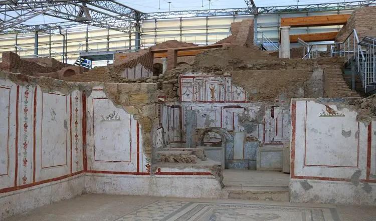 Extrem gut erhaltene Fresken