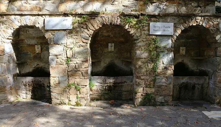 Brunnen am Haus der Mutter Maria in der Türkei.