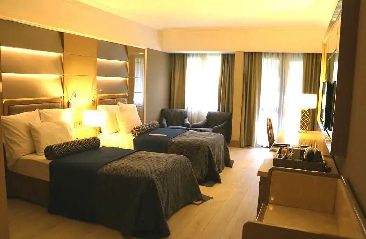Handicapzimmer mit zwei Betten
