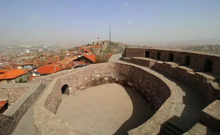 Innere der Burg