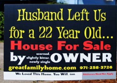 For Sale by Angry Wife!