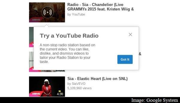 Permalink to YouTube prueba un servicio de radio personalizada