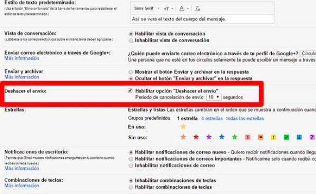 Gmail Ya Permite Recuperar Un Correo Enviado Por Error