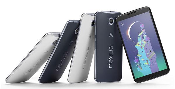 Nexus 6 pantalla