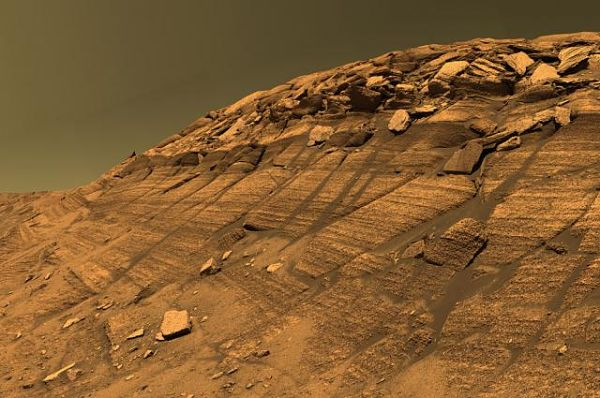 Los presuntos ríos de Marte podrían ser solo polvo