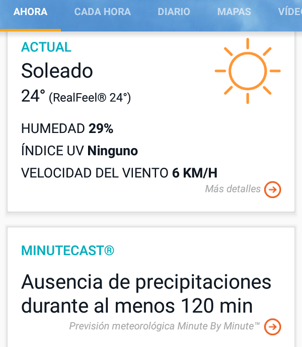 accuweather zte blade v7 lite