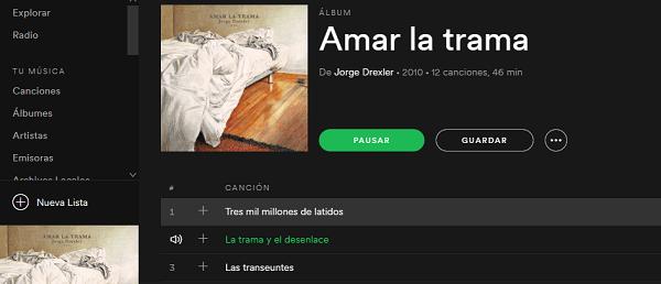 Lista Spotify