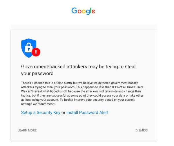 Google hackeo contraseñas