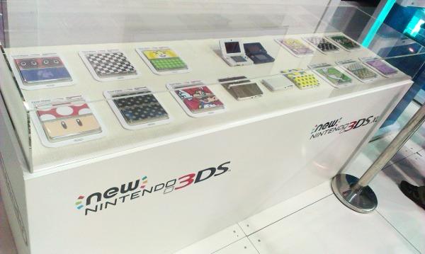 Display de New Nintendo 3DS