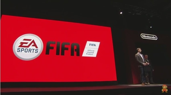 Presentación Fifa para Switch