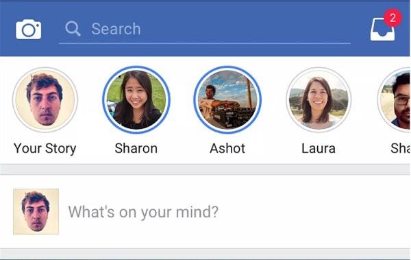 historias facebook
