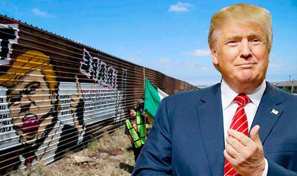 Meme Trump México(país) muro