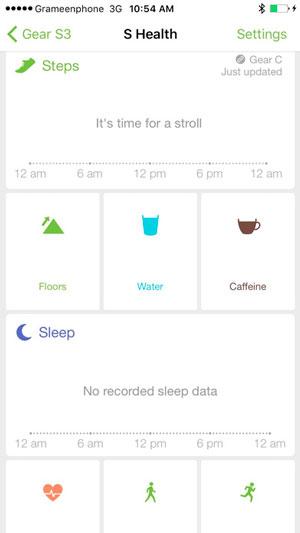samsung gear semejantes iphone app