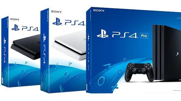 ¿Me compro PlayStation℗ 4 Slim de 500 GB, PS4 Slim de 1 TB o PS4 Pro?