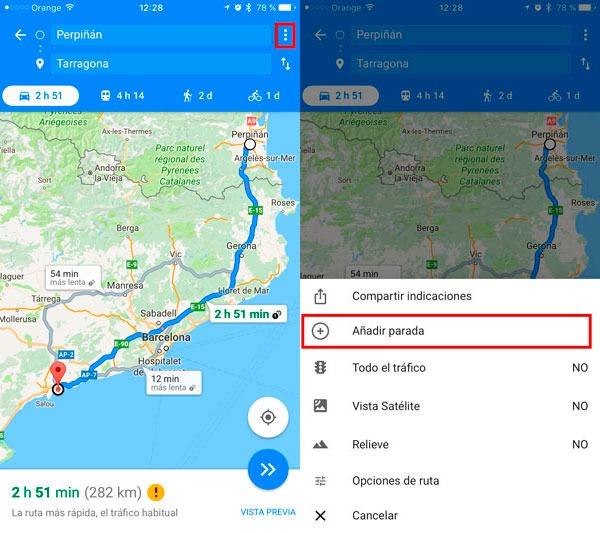 trucos google maps parada 1