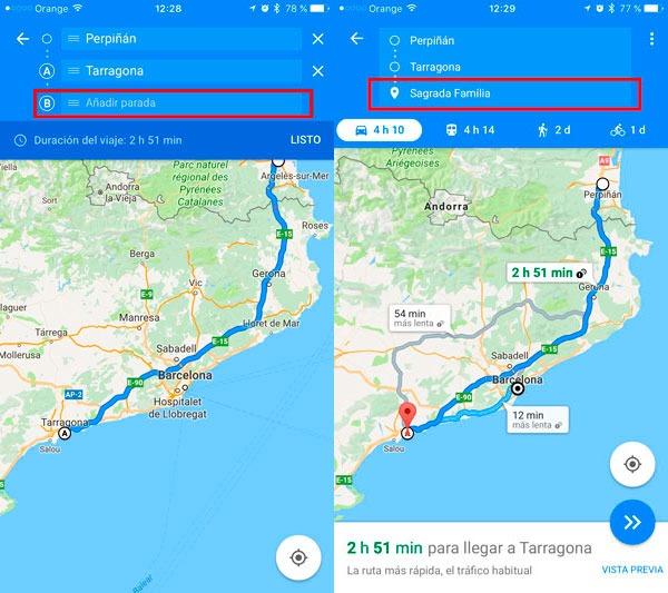 trucos google maps parada 2