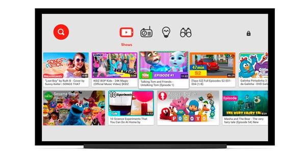 YouTube Kids llega a las Smart televisión de Samsung, Sony y LG