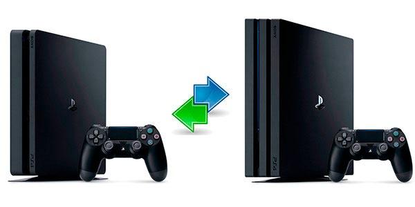 Cómo transferir todos los datos(info) de una PS4 a otra