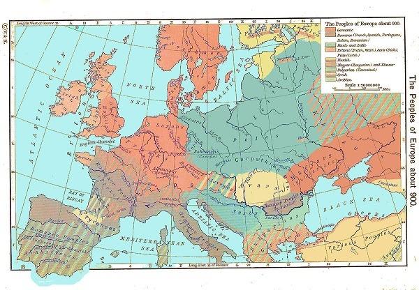 mapa histórico europa