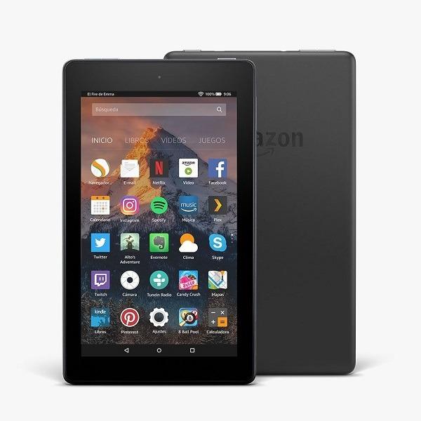 Amazon Fire 7, tablet más delgado y con más batería por 80 euros