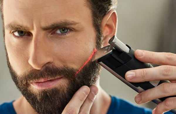 Philips serie 9000, un barbero con guía láser