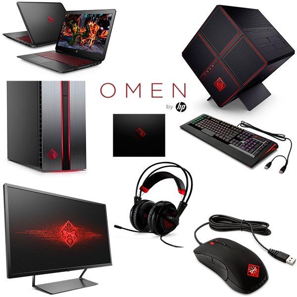 HP Omen, una gama de equipos potentes para gamers