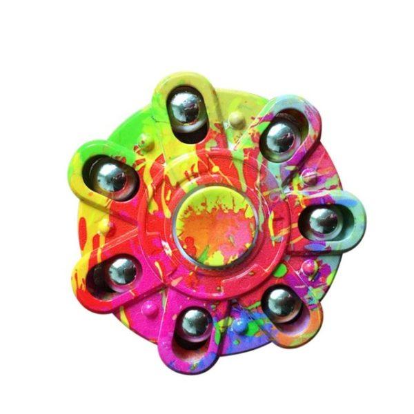 fidget spinner siete bolas