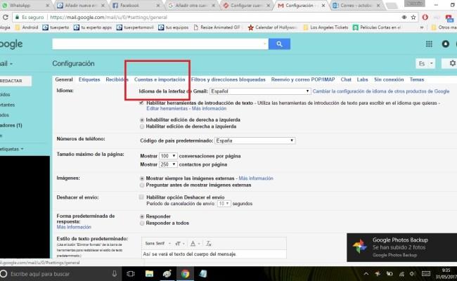 Cómo Añadir Otra Cuenta De Correo En Gmail Tuexperto