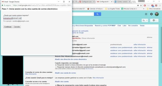 añadir cuenta de correo en gmail 3