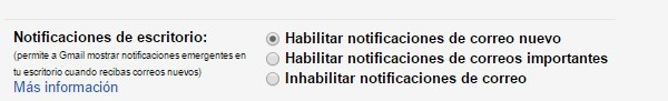 habilitar notificaciones