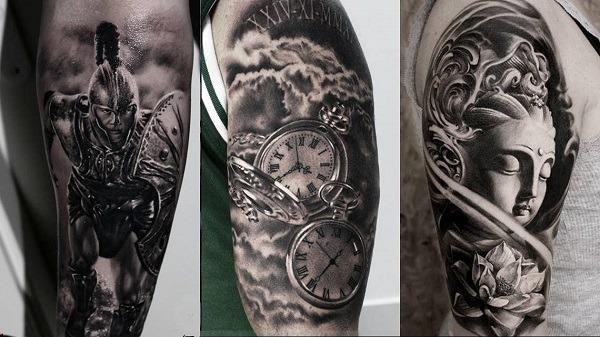 Imágenes de tatuajes Black & Grey
