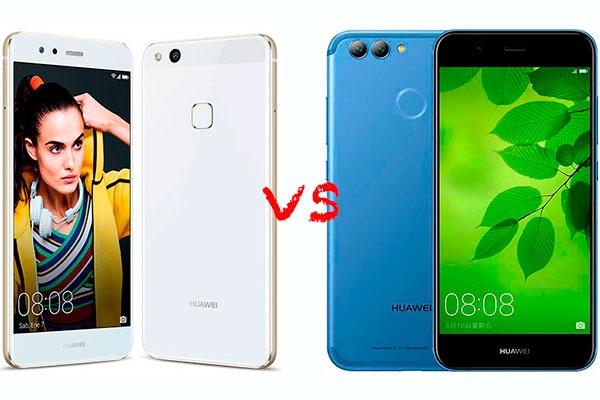 5 diferencias entre el Huawei P10 Lite y el Huawei Nova 2