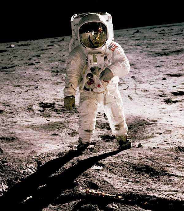 Buzz Aldrin en la Luna 1969 NASA