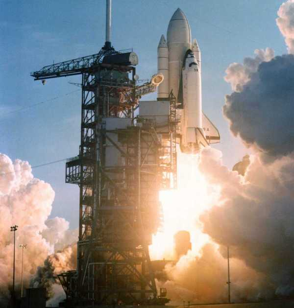 Columbia lanzamiento 1981 NASA