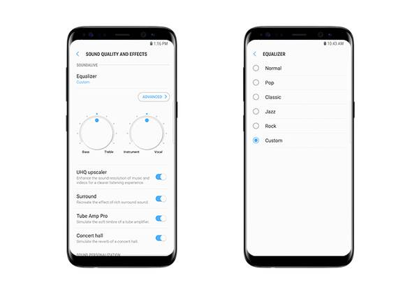 Todas las ventajas del sonido del Samsung Galaxy S8